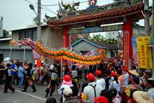 Dragon dance, Taiwan