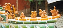 Dragon temple decoration