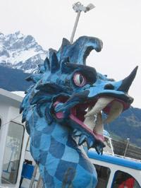 Dragon boat in Lucerne