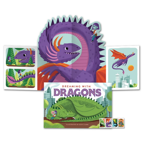 dragon_popup_book