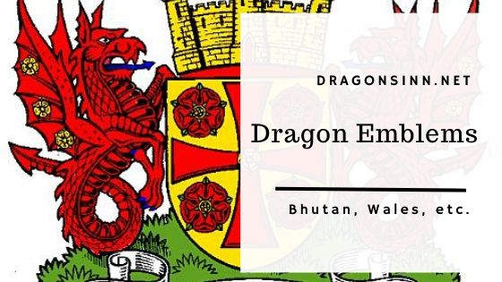 Dragon Emblems, Flags and National Symbols