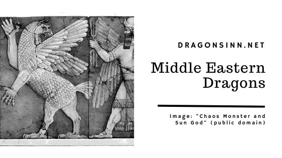 middle eastern dragons