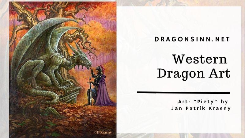western dragon art
