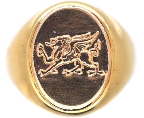welsh dragon jewelry