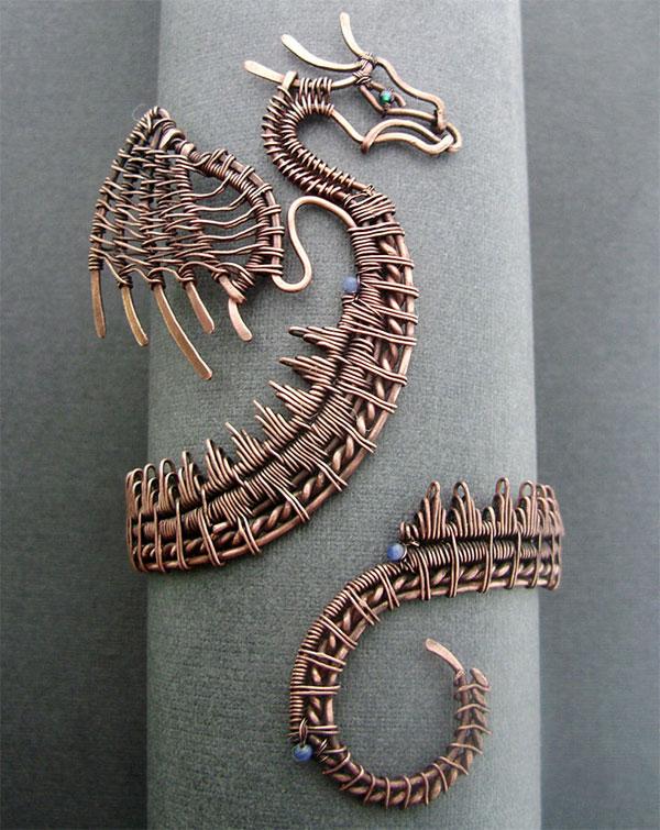 wire_dragon_jewelry