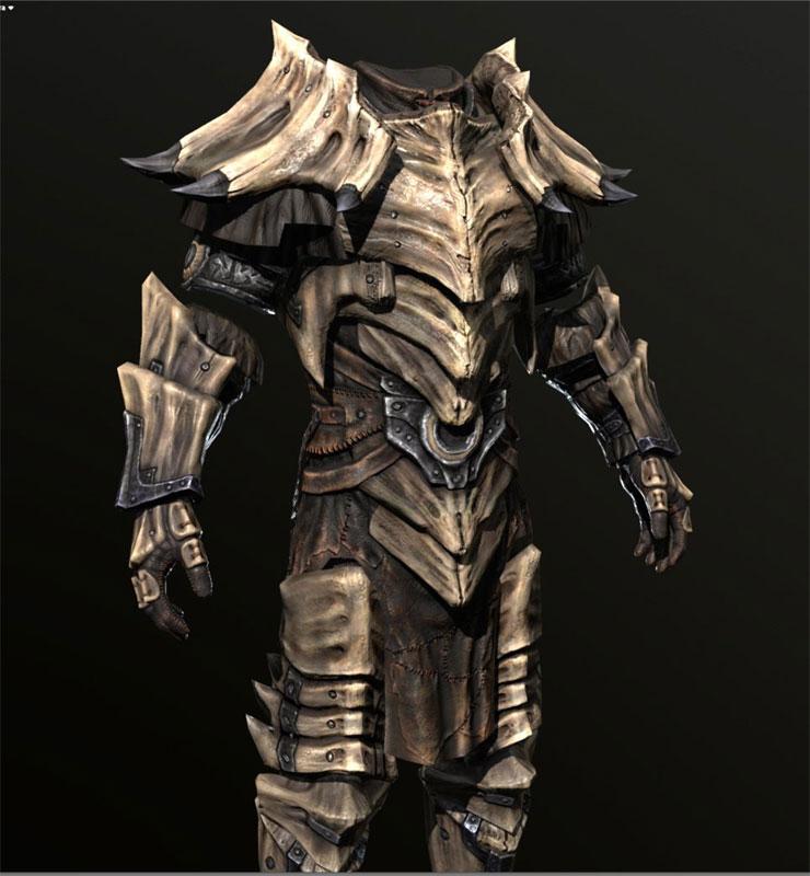 dragon bone armor