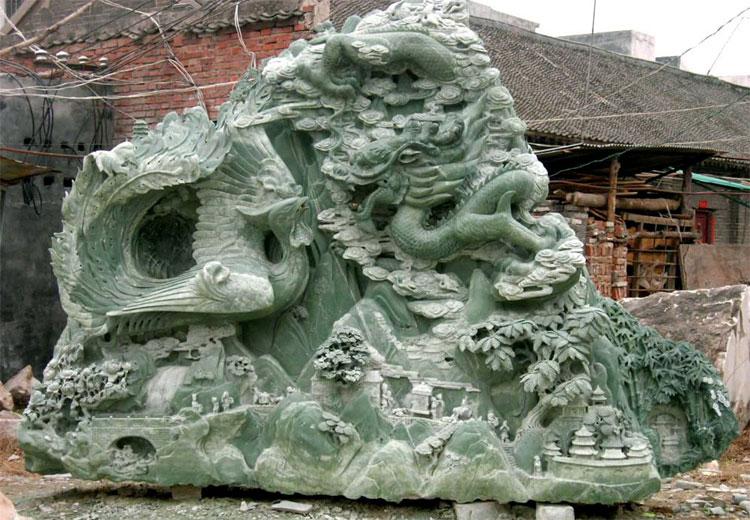 dragon_phoenix_jade_sculptu